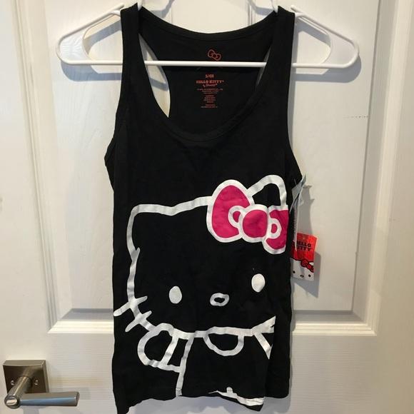 524beabfdae17a Hello Kitty Racerback Women s Tank Top